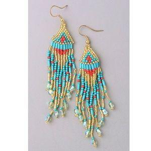 Jewelry - 🌟HP 5/21🌟 Beaded Tassel Earrings
